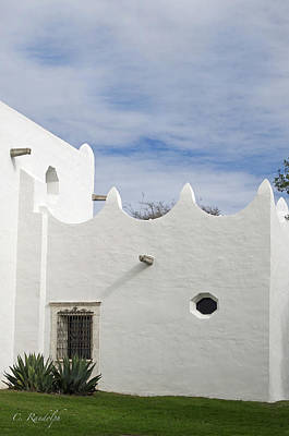 Photograph - White Adobe by Cheri Randolph