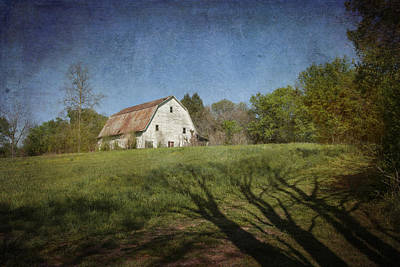 Photograph - White Barn I by Carol Erikson