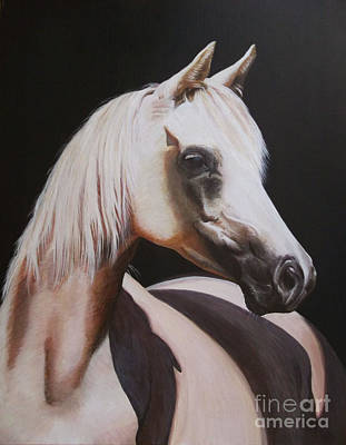 Painting - White Beauty by Jill Parry