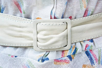 White Belt Art Print by Tom Gowanlock