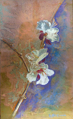 Painting - White Blossom by Dayton Claudio