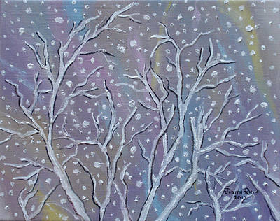 Painting - White Branches by Judith Rhue
