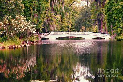 Photograph - White Bridge by David Arment