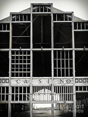 Photograph - White Casino by Colleen Kammerer
