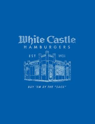 Slider Digital Art - White Castle - By The Sack by Brand A