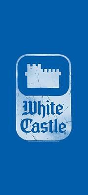 Slider Digital Art - White Castle - Classic Logo by Brand A