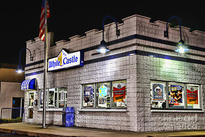Slider Photograph - White Castle by Paul Ward
