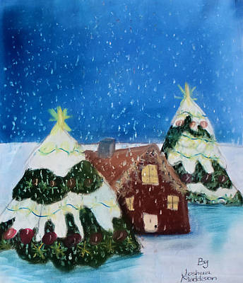 Christmasland Art Print