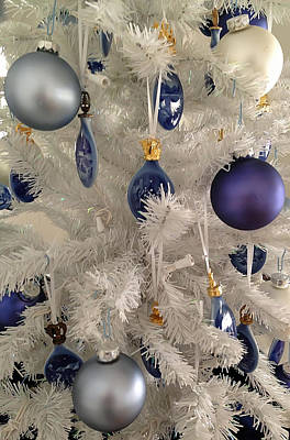 Photograph - White Christmas Tree by Aimee L Maher Photography and Art Visit ALMGallerydotcom
