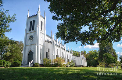 Photograph - White Church by Tamera James