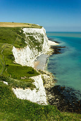 White Cliffs Of Dover Photograph - White Cliffs Of Dover.  by Ian Hufton