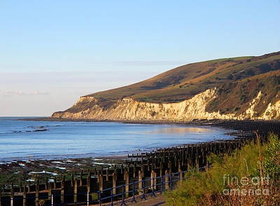 Photograph - White Cliffs Of Eastbourne Beachy Head by Art Photography