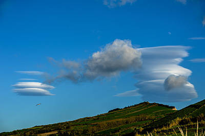 Photograph - White Clouds Swirl by Joseph Amaral