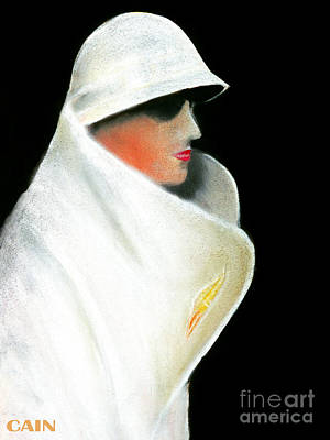 Painting - White Coat And Hat by William Cain