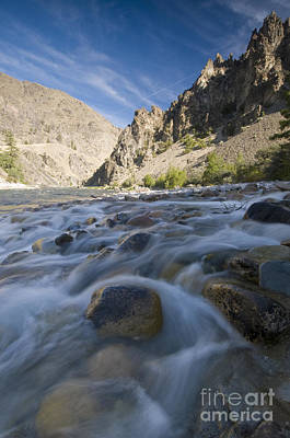 White Creek And Middle Fork Salmon River Art Print