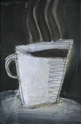 Painting - White Cup by Tim Nyberg