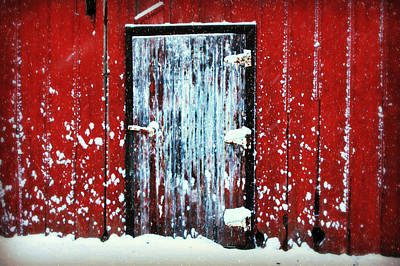 Photograph - White Door by Julie Hamilton
