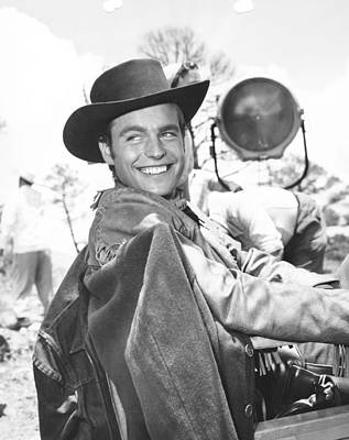 1950s Movies Photograph - White Feather, Robert Wagner by Everett