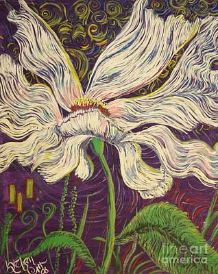 White Flower Series 6 Art Print