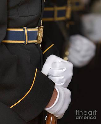 Jefferson Memorial Digital Art - White Gloves by Jerry Fornarotto