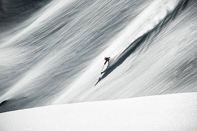 Skiing Photograph - White Gold by Andre Schoenherr