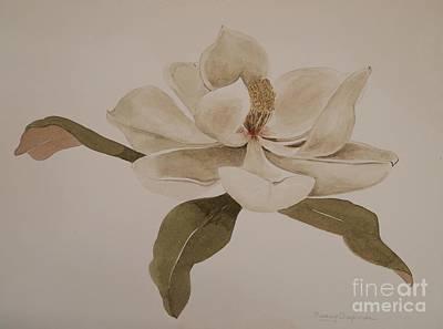 Painting - White Grace by Nancy Kane Chapman