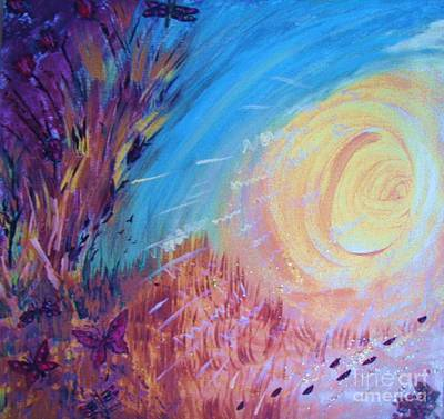 Painting - White Hole by Vanessa Palomino