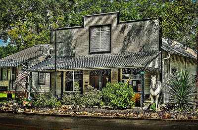 Photograph - White Horse Tavern by David Morefield