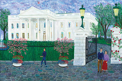 Painting - White House by Mike De Lorenzo