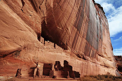 Chelly Photograph - White House Ruin, Canyon De Chelly by Michel Hersen