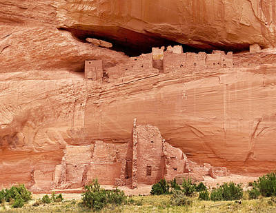 Photograph - White House Ruins Canyon De Chelly by Bob and Nadine Johnston
