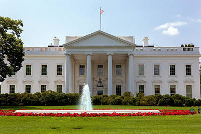 Photograph - White House by Sennie Pierson