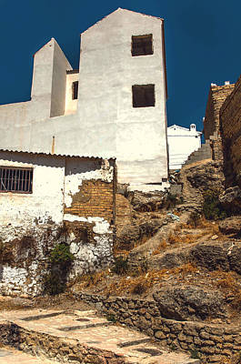 Photograph - White Houses Of Ronda 1 by Jenny Rainbow
