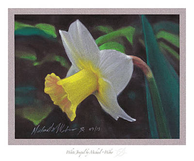White Jonquil Original by Michael  Weber