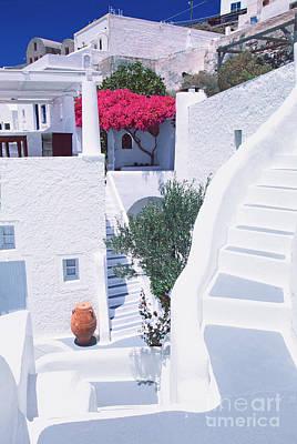 White Labyrinth Art Print