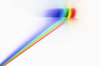 Photograph - White Light Spectrum by GIPhotoStock