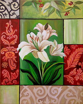 Painting - White Lilies by Tanya Anurag