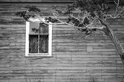 Fernley Photograph - White Lone Window by Cathie Richardson
