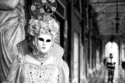 Photograph - White Mask 2015 by John Rizzuto