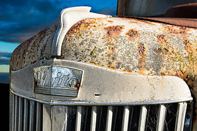 Blue Photograph - White Motor Company by Tim Fleming