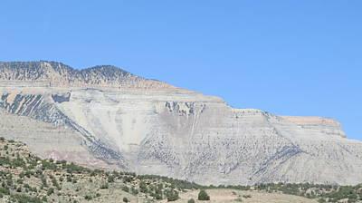 Photograph - White Mountain by Diane Mitchell