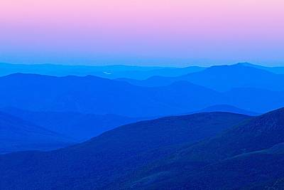 Scenic New Hampshire Photograph - White Mountain Layers by Jeff Sinon