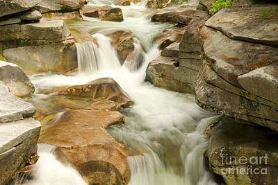 Clouds - White Mountain Stream by Alana Ranney