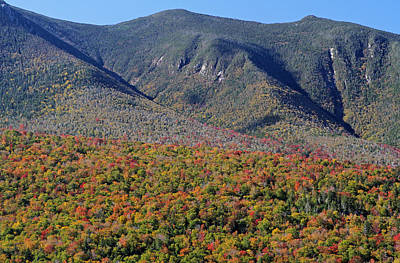 New Hampshire Photograph - White Mountains Autumn Scenery  by Juergen Roth
