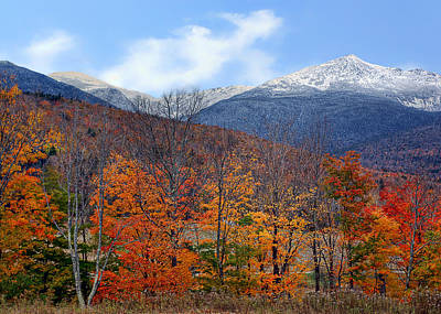 Photograph - White Mountains - Autumn To Winter by Nikolyn McDonald