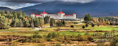 Photograph - White Mountains Omni Resort Panorama by Adam Jewell