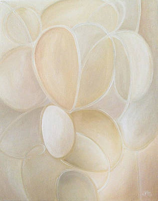 Painting - White On by Judith Chantler