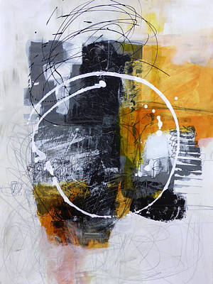 Fat Painting - White Out 3 by Jane Davies