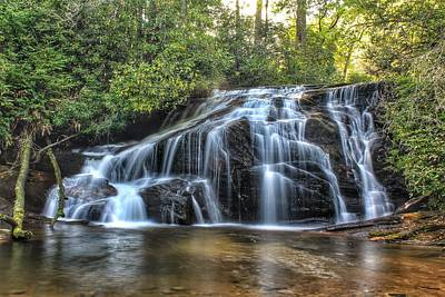 Photograph - White Owl Falls by Chris Berrier