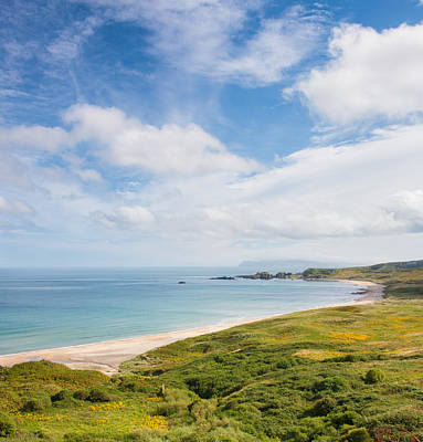 Photograph - White Park Bay by Semmick Photo